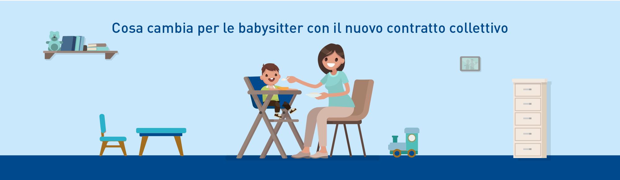 contratto collettivo babysitter