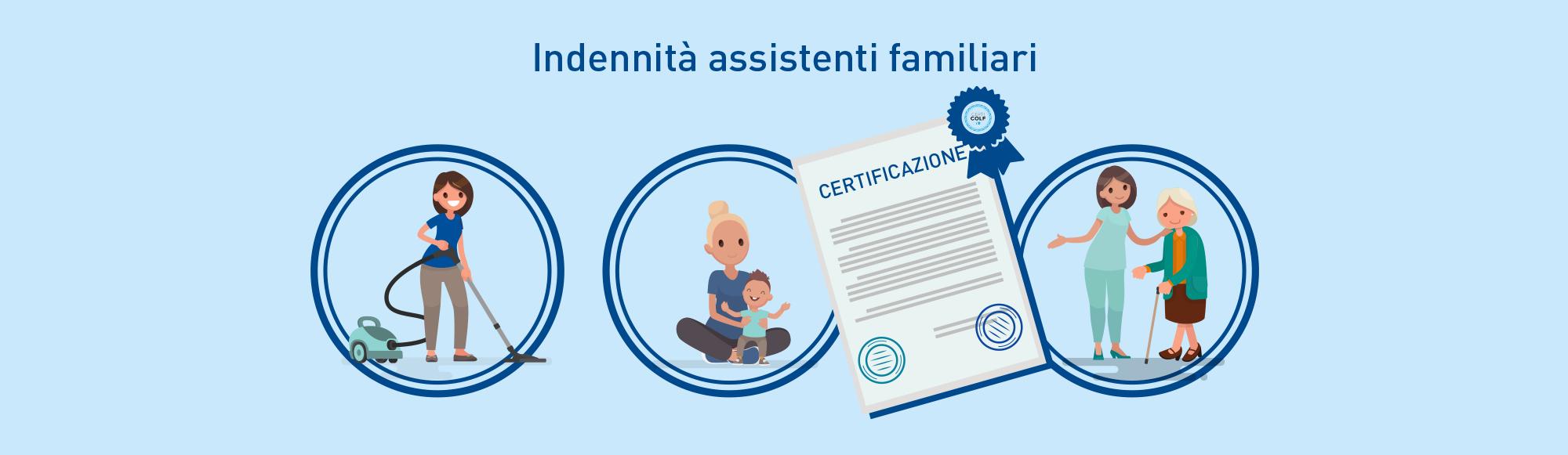 indennità con certificato qualità